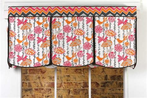 curtain valance patterns lace up curtain valance sewing pattern