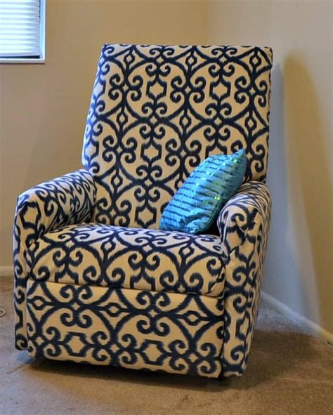 how to reupholster a rocker recliner 17 best images about reupholstering on pinterest