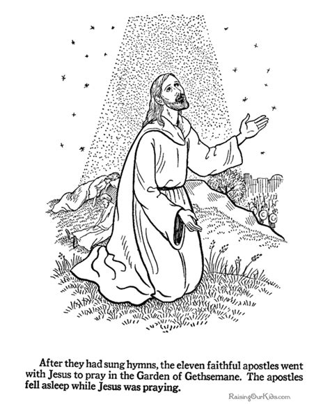 religious easter coloring pages 004