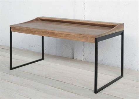 wrought iron computer desk board table desk industrial wood