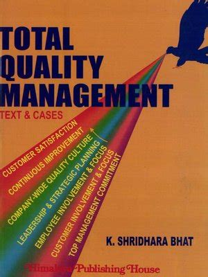 quality picture books total quality management by k shridhara bhat 183 overdrive