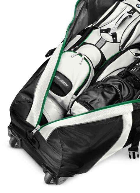 bmw golfsport genuine golf travel bag cover with wheels
