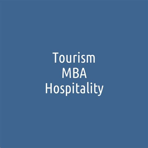 Mba Hospitality And Tourism Management by Homepage Www Mitropolitiko Edu Gr
