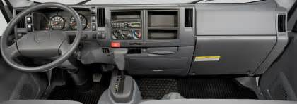 Isuzu Truck Interior Isuzu Commercial Vehicles Low Cab Forward Trucks Commercial Trucks N Series Gas Features