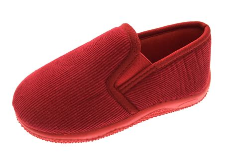 boys slippers uk boys classic corduroy slippers slip on shoes cord