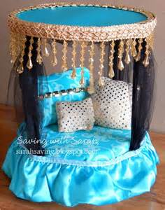 diy doll furniture canopy bed monsterhigh for