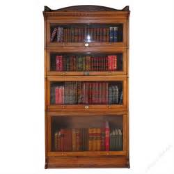 Stacking Bookshelves Four Section Stacking Bookcase By Harris Lebus Antiques