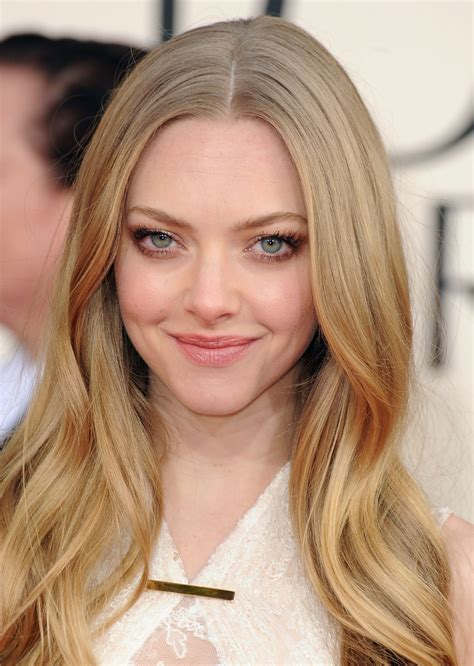 amanda seyfried smile amanda seyfried smiled coyly at the 70th annual golden