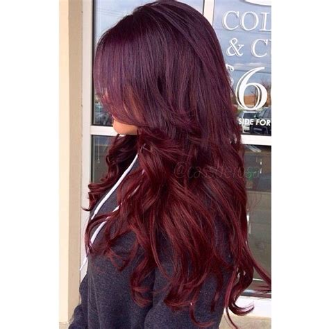 ideas  wine colored hair  pinterest wine