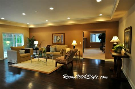 model home living rooms vacant model home staging eclectic living room