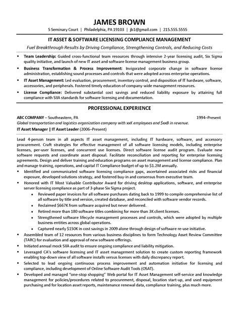 it asset management resume sample beautiful resume samples program