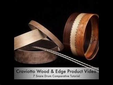 tutorial snare drum craviotto snare drum comparative tutorial youtube