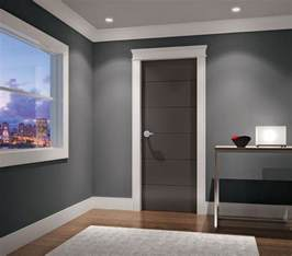 Modern Molding And Trim | best 25 modern interior doors ideas on pinterest