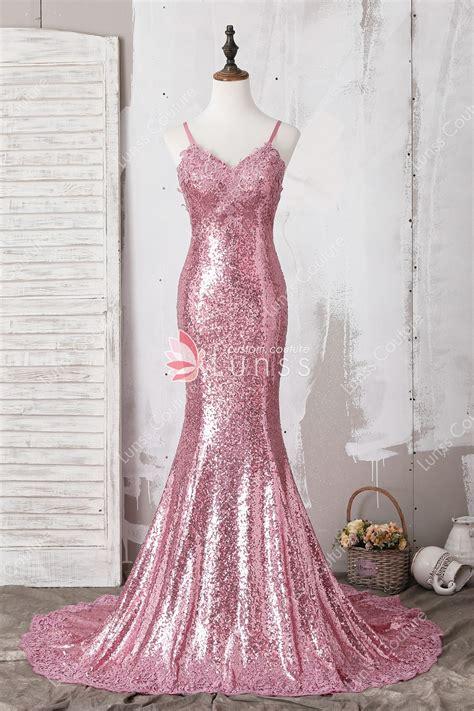V Neck Dress Pink spaghetti v neck delicate lace appliqued pink