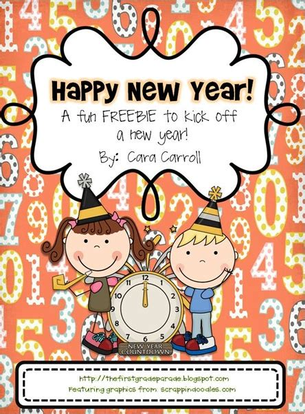 new year activity miss goes to kindergarten new year s