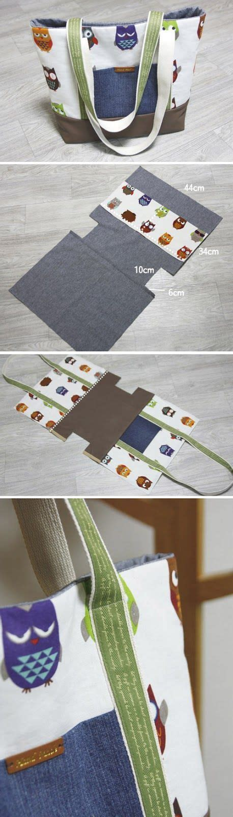 tutorial tote bag canvas easy canvas tote bag with pocket step by step diy