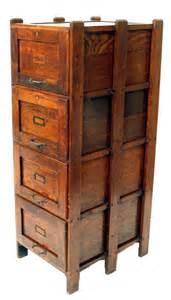 Antique Filing Cabinet 152 Antique Weis Arts Crafts Oak File Cabinet Lot 152