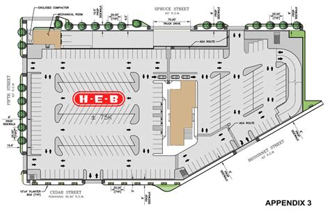 Elevation Floor Plan by A Look Around The Double Decker H E B And Parking Lot