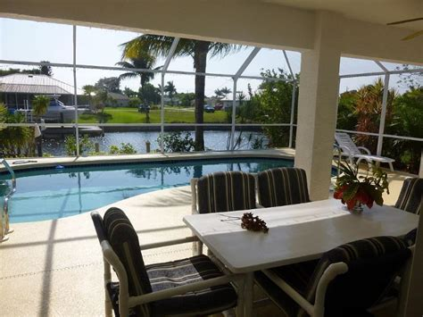 boat lift rentals cape coral saltwater canal heated pool home with boats lift updated