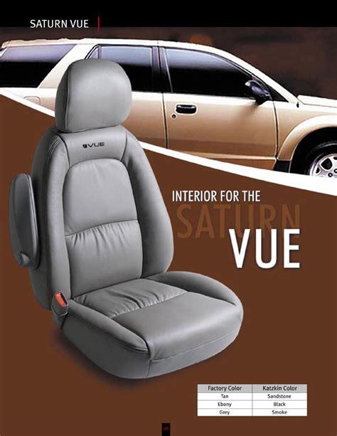 2005 saturn vue seat covers saturn vue katzkin leather seat upholstery 2006 2007
