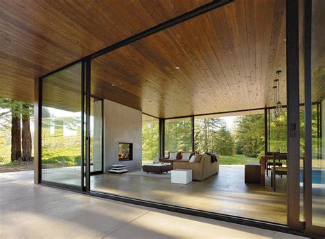 rectangular glass house interior design 10 casas modernas de dise 241 o espectacular living kits