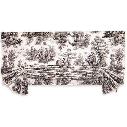 black and white toile kitchen curtains 44 best images about to toile on pinterest blue and white window treatments and cottages