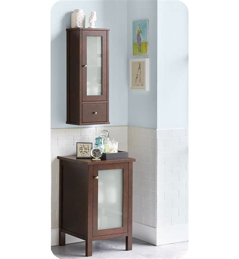 bathroom wall cabinets cherry ronbow 687032 h01 contemporary 32 quot bathroom wall cabinet