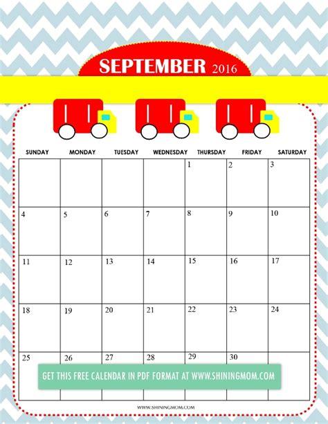 printable calendar 2017 free cute september 2017 calendar cute calendar 2017 printable