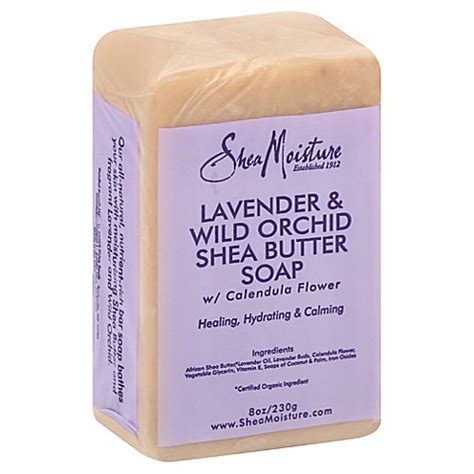 Butter Lavender And sheamoisture 0 8 oz shea butter soap in lavender and