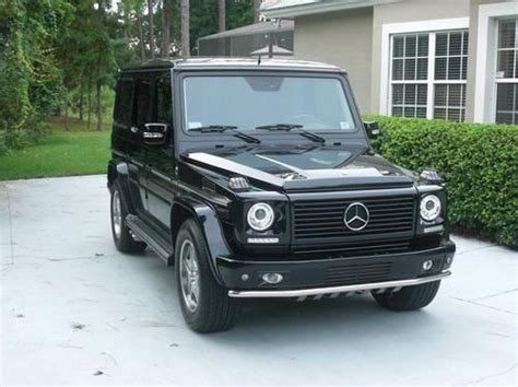 how does cars work 2005 mercedes benz g class engine control find used 2005 g55 amg kompressor designo florida garaged flawless upgrades new look in lake