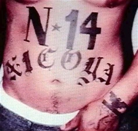 latin counts tattoo latino prison gangs norte 241 os