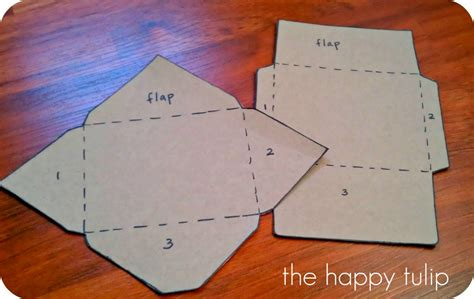 Handmade Envelopes Template - the happy tulip highlights and handmade