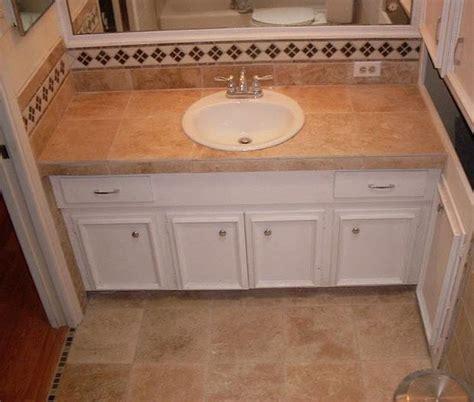 southwestern bathroom in san antonio beige tile