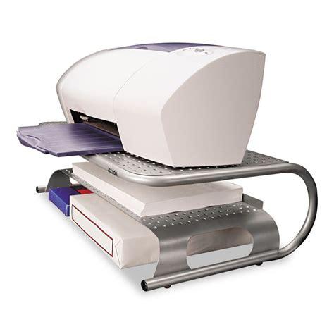 Allsop Metal Desktop Printer Monitor Stand 18 1 2 Quot X 12 Desk Top Printer Stand