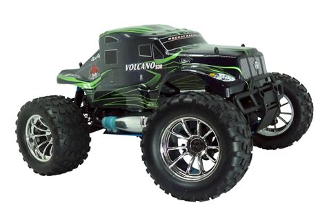 nitro rc monster truck kits redcat racing volcano s30 1 10 scale nitro monster truck