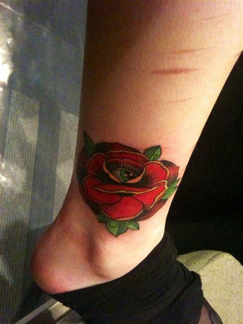 tattoo rose and eye my new rose and eye tattoo tattoo pinterest