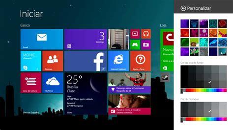 mudar layout youtube windows 8 1 como mudar o papel de parede do menu iniciar