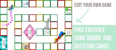 free printable board games to make templates