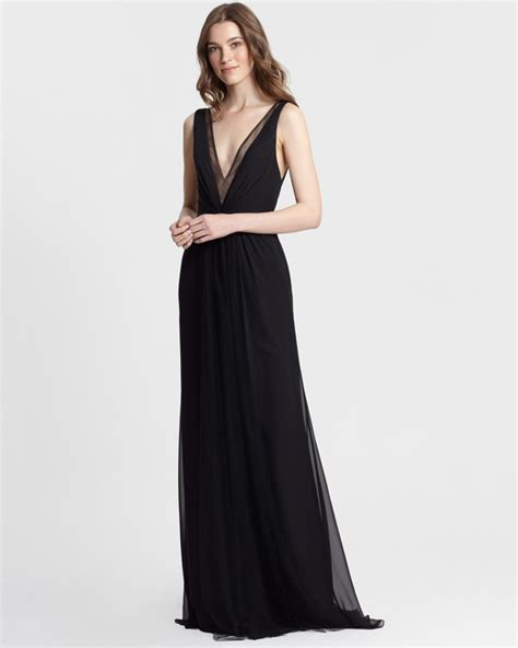 black bridesmaid dresses for every style of wedding chic black bridesmaid dresses martha stewart weddings