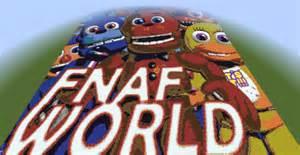 Fnaf world icon minecraft project