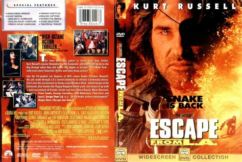 L Covers by Escape From L A Dvd Scanned Covers 6escape From L A Dvd Covers