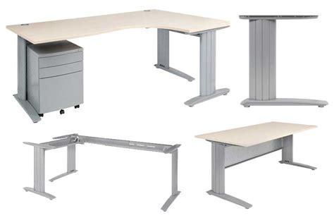 C Style Corner Desk Frame Sydney Desk System Euro Fit Corner Desk System