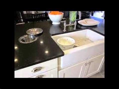 black porcelain kitchen sink youtube