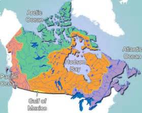 canada drainage map canada draining to the gulf of mexico 187 twelve mile circle