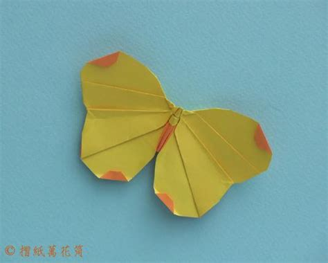 Origami Butterfly Simple - easy origami swallowtail butterfly comot