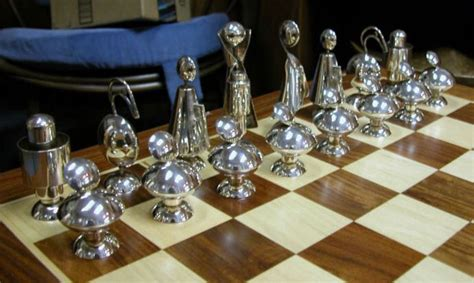 futuristic chess set pin by rikki reeves on mid century and cool chess sets