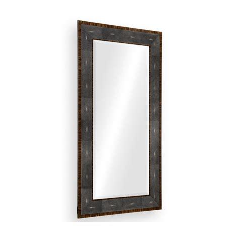 Floor Standing Mirrors by Deco Leather Floor Standing Mirror Swanky Interiors