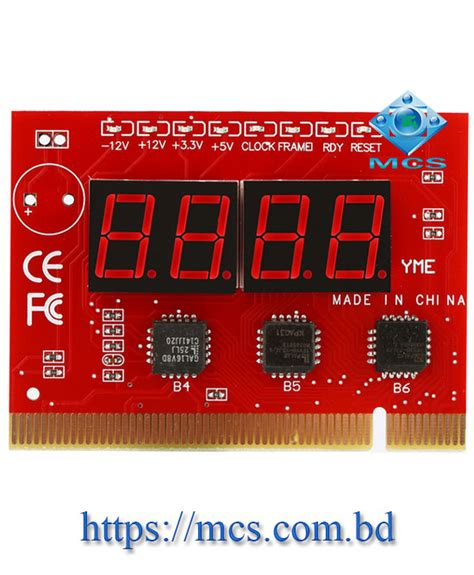 Tester Card Motherboard Pci diagnostic analyzer card for desktop motherboard tester