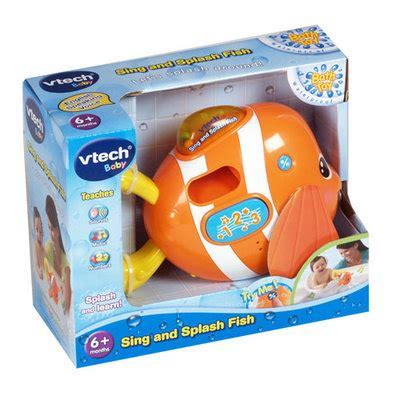 Diskon Vtech Sing And Splash Fish vtech sing splash fish baby bath brand onlinetech baby pirate costume