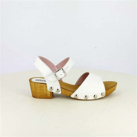 imagenes sandalias blancas sandalias blancas con tac 243 n quets querolets